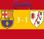 Барселона - Райо Вальекано (3:1) (17.03.2013) Видео Обзор