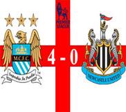 Манчестер Сити - Ньюкасл (4:0) (30.03.2013) Видео Обзор