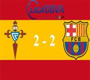 Сельта - Барселона (2:2) (30.03.2013) Видео Обзор
