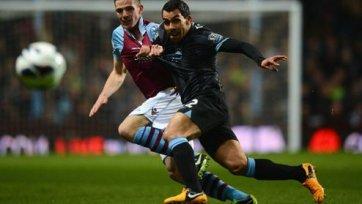 «Манчестер Сити» обыгрывает на выезде «Астон Виллу»