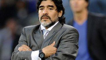 Марадона может возглавить один из французских клубов