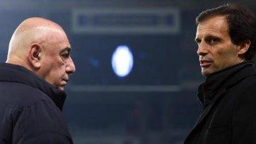 Адриано Галлиани: «Ювентус» уже выиграл чемпионат»