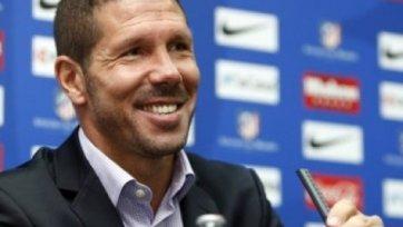 Диего Симеоне останется в «Атлетико» еще на четыре года