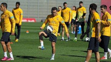 Хави сможет принять участие в игре с «Миланом»