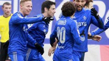 «Динамо» в меньшинстве удержало победу
