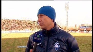 Александр Макаров: «В обороне играем не плохо, обидно, что пропустили со стандарта»
