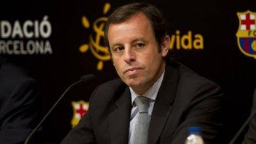 Президент «Барселоны» поддержал команду перед игрой с «Миланом»