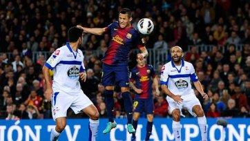 «Барселона» победила «Депортиво». Месси снова отличился голом