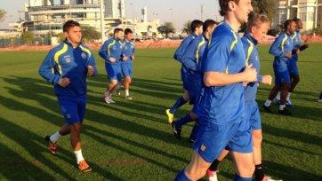 «Ростов» на следующий день после игры с «Аланией» провел тренировку