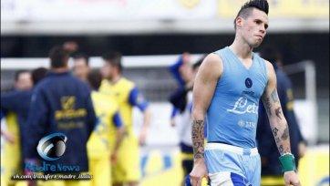 «Наполи» продолжил безвыигрышную серию поражением в Вероне