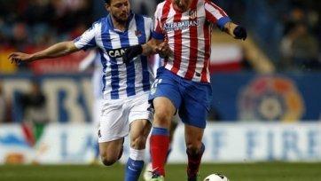 «Атлетико» уступил вторую строчку
