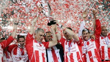 «Олимпиакос» - есть 40-й титул в истории клуба!