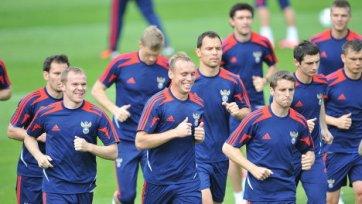 Сборная России будет готовиться к матчу против Северной Ирландии на базе «Арсенала»