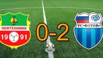 «Ротор» стартовал с победы в первом матче второго круга ФНЛ