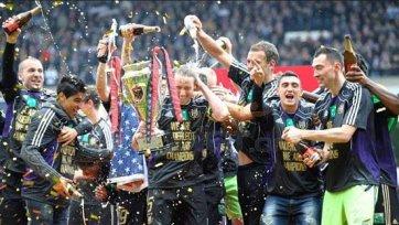 «Андерлехт» досрочно выиграл чемпионат Бельгии