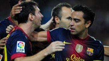 Хави поможет «Барселоне» в Лиги чемпионов