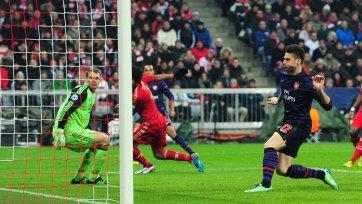 «Арсенал» не сумел сотворить чуда. «Бавария» идет дальше