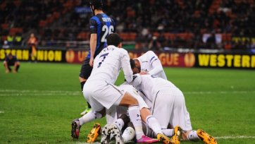 «Интеру» не хватило четырех мячей для выхода в четвертьфинал ЛЕ