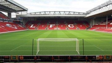 Арена «Ливерпуля» облачится в новые цвета