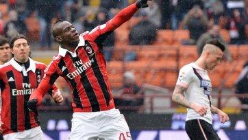 «Супер Марио» удерживает «Милан» в тройке