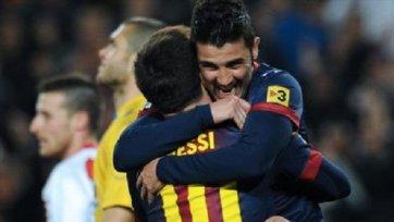 Дубль Месси принес уверенную победу «Барселоне»