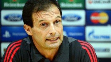 Массимилиано Аллегри останется в «Милане» после окончания сезона