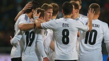 Германия разгромила Казахстан
