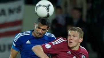 Латвия не смогла переиграть Лихтенштейн