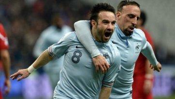 Франция одержала домашнюю победу над Грузией