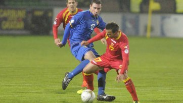 Черногория вымучила победу над Молдовой