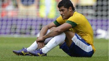 Худшим игроком матча Бразилия-Италия стал Халк