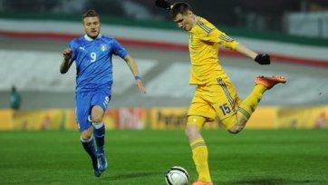 Молодежная сборная Украины проиграла сверстникам из Италии
