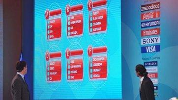 Результаты жеребьевки молодежного чемпионата мира