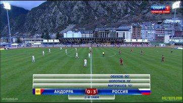 Сборная России с победы стартовала в отборе на ЧЕ-2015 года