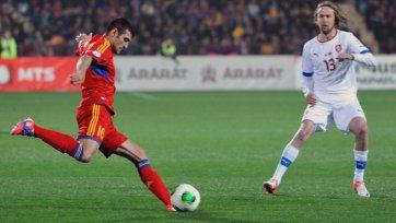 Чехия не оставила шансов Армении