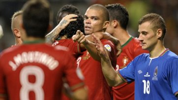Азербайджан не выстоял под натиском Португалии
