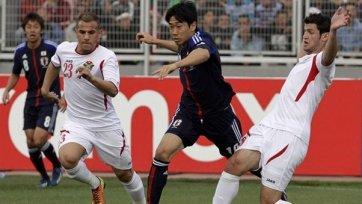 Япония уступила сборной Иордании