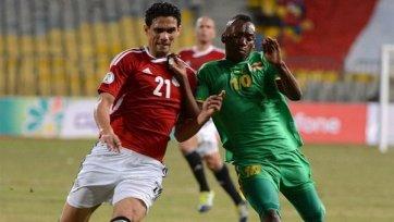 Египет вырвал победу у Зимбабве
