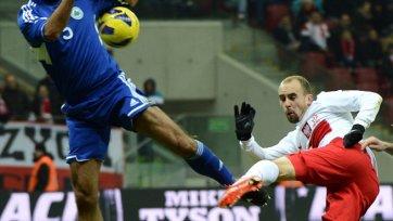Польша отыгралась на Сан-Марино