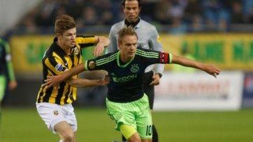 Ван дер Хайден продлил контракт с «Витессом»