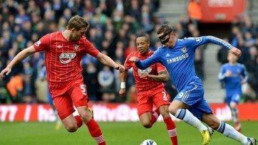 «Челси» оступился в игре с «Саутгемптоном»