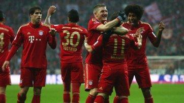 «Бавария» не смогла забить 10 мячей «Гамбургу»