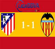 Атлетико - Валенсия (1:1) (31.03.2013) Видео Обзор