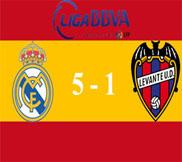 Реал Мадрид - Леванте (5:1) (06.04.2013) Видео Обзор