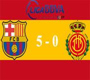 Барселона - Мальорка (5:0) (06.04.2013) Видео Обзор