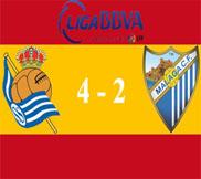 Реал Сосьедад - Малага (4:2) (06.04.2013) Видео Обзор