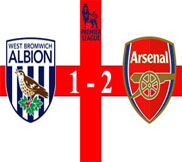 Вест Бромвич - Арсенал (1:2) (06.04.2013) Видео Обзор