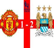 Манчестер Юнайтед - Манчестер Сити (1:2) (08.04.2013) Видео Обзор