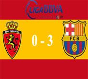 Сарагоса - Барселона (0:3) (14.04.2013) Видео Обзор