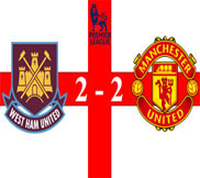 Вест Хэм - Манчестер Юнайтед (2:2) (17.04.2013) Видео Обзор
